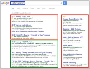 Better Organic Search Results Commerce Georgia